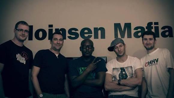 Ono Ngcala (Walkin' Large) + Moinsen Mafia - Rap Funk Soul Live Act in Lingen (Ems) - Berlin