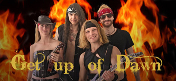 Get Up of Dawn - Rock Heavy Metal Live Act in Meißen