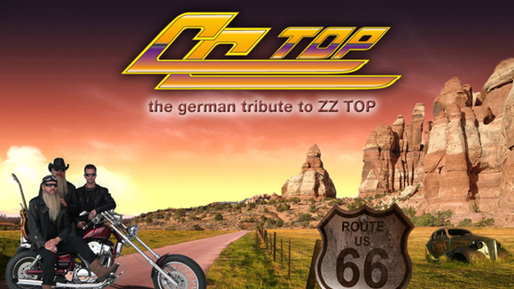 CC-Top ...the german tribute to ZZ-Top - Blues Blues Rock Live Act in Uelzen