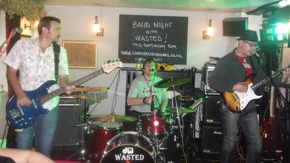 Wasted - Rock Pop Rock Cover Live Act in Tonbridge