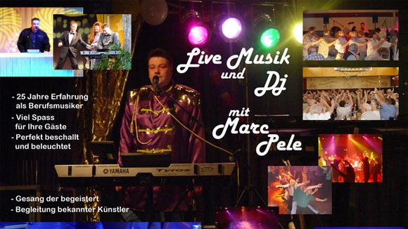 Premium Alleinunterhalter Marc Pele - Pop Schlager Rock Party Live Act in Hermeskeil