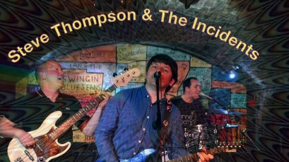 Steve Thompson & The Incidents  - Britpop Alternative Rock Mod Indie Live Act in Liverpool