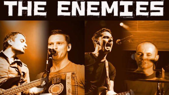 The Enemies - Pop Rock Live Act in Dublin