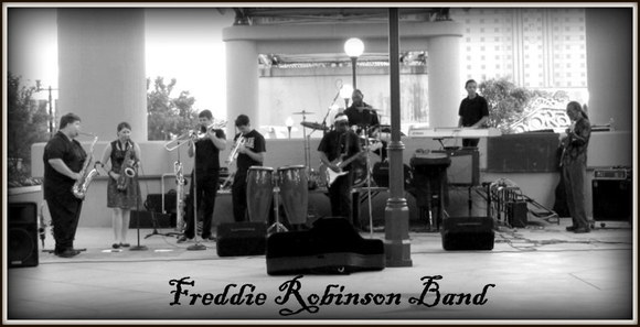 Freddie Robinson Band - Rhythm & Blues (R&B) Jazz Soul Live Act in Shreveport