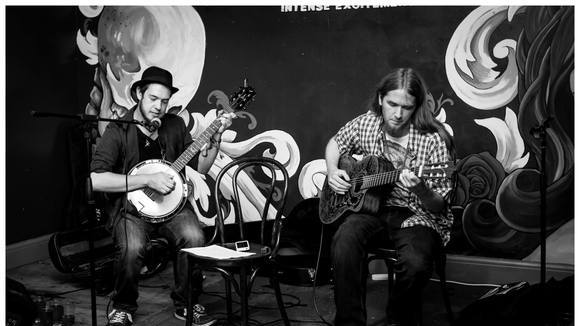 Acid Haystack and the Shattered Villain  - Folk Bluegrass Live Act in Manchester/London