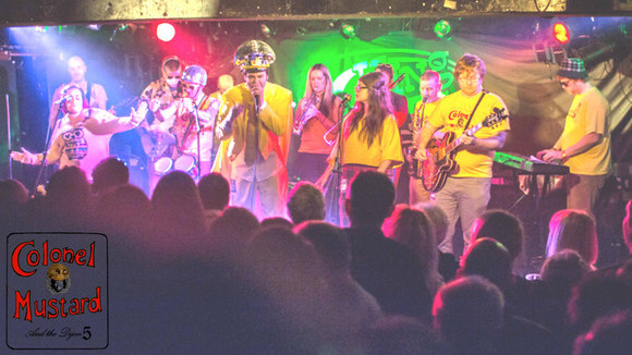 Colonel Mustard & The Dijon5 - Reggae Disco Psychedelic Rock Live Act in glasgow
