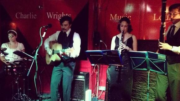 David McTea & the Swinging Magpies - Jazz Swing Live Act in London