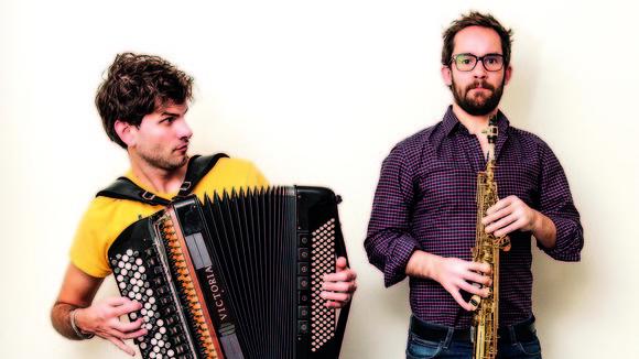 Vincent Peirani & Emile Parisien  - Jazz Live Act in Bordeaux