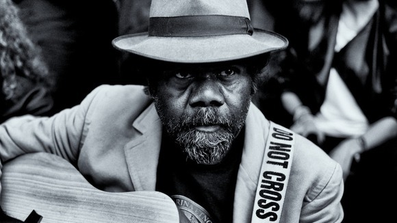 Frank Yamma - Jazz Blues Live Act in Adelaide