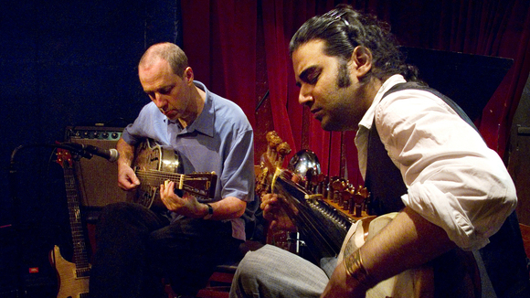 Multiplicity: Joel Harrison and Anupam Shobhakar - Jazz Jazz Worldmusic Live Act in Brooklyn