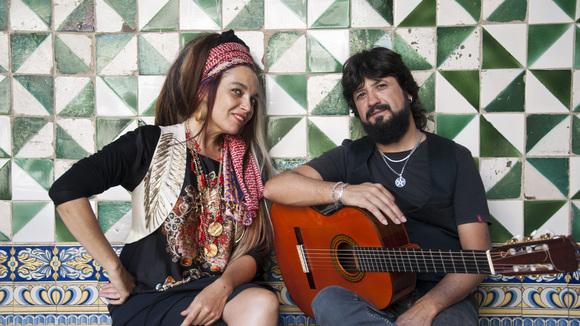 Marinah & Chicuelo - Worldmusic Jazz Live Act in Barcelona