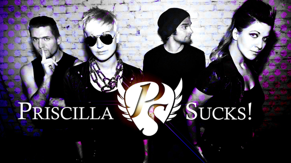 Priscilla Sucks! - Rock Live Act in Berlin