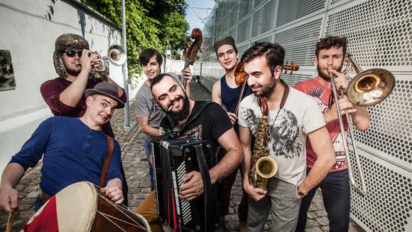 BUBLICZKI - Worldmusic Balkanbeats Live Act in Szczecin