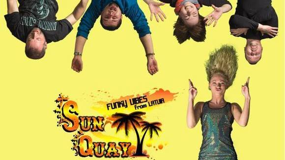 Sun Quay - Disco Dance Funk Live Act in Riga