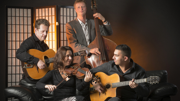 Romno Swing Quartett - Worldmusic Singer/Songwriter Acoustic Gypsy Jazz Balkanbeats Live Act in Münster